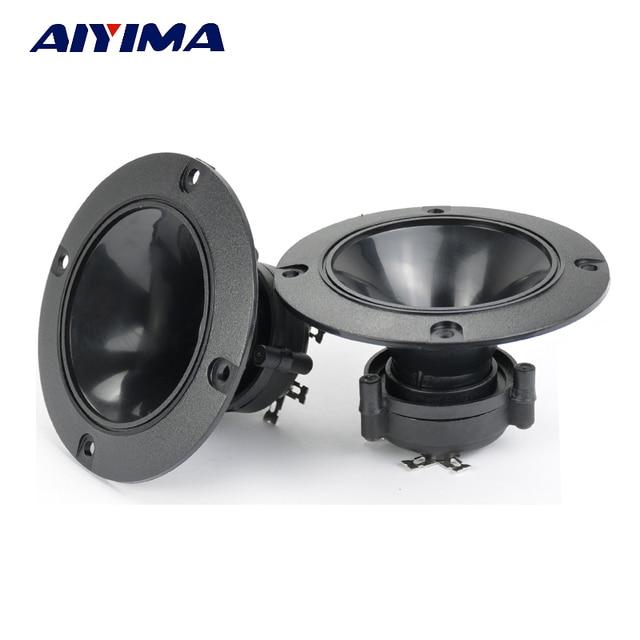 AIYIMA 2PC Audio Tweeters 98MM Piezoelectric Tweeter Audio Speaker 150W Treble Ceramic Piezo Loudspeakers
