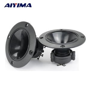 Image 1 - AIYIMA 2PC Audio Tweeters 98MM Piezoelectric Tweeter Audio Speaker 150W Treble Ceramic Piezo Loudspeakers