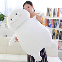 Fancytrader Big Soft Funny White Bear Toy Cuddly Stuffed Korea Pop Dolls Pillow 100cm 39inch 3 Colors