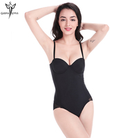 Women Slimming Bodysuits Tummy Control Shapewear Belly Slimming Sheath Hot Shaper Firm Control Thong Back Butt