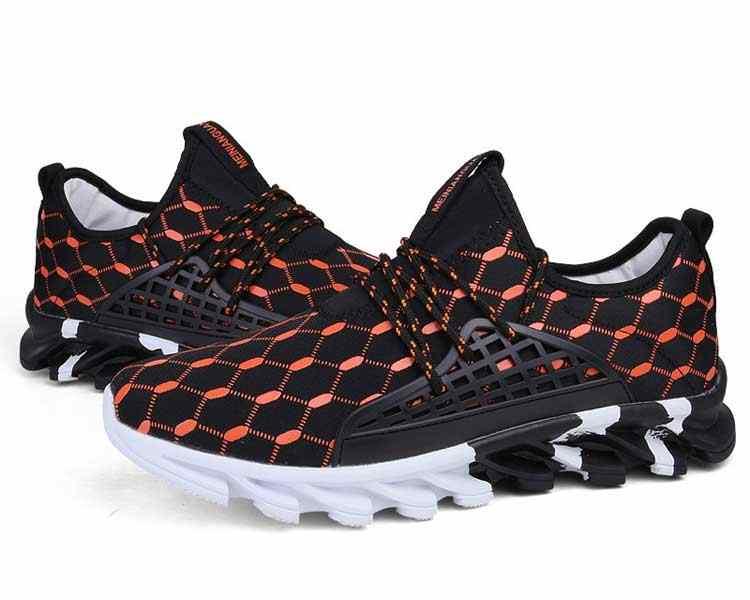 Boyutu 39-47 Sneakers Erkekler Günlük Ayakkabı Yeni Bahar 2019 Erkek yürüyüş ayakkabısı Erkek Tendon Spor Koşu Ayakkabı #44