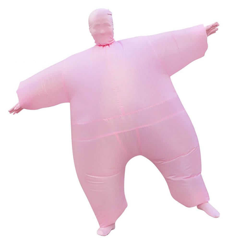 6a70d7e02a5d Gonfiabile Full Body Suit Adulto Blow Up Grasso Club Vestito Divertente  Gonfiabile Costume di Halloween Del Partito Del Vestito Operato Seconda  Pelle Della ...