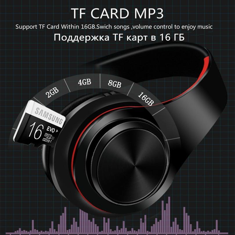 Tourya B7 Wireless Headphones Bluetooth Headset Foldable Headphone Adjustable Earphones With Mic for phone Pc Lattop Mp3 TV 4