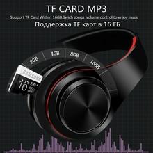 Headphones Bluetooth Headset Foldable Headphone Adjustable Earphones