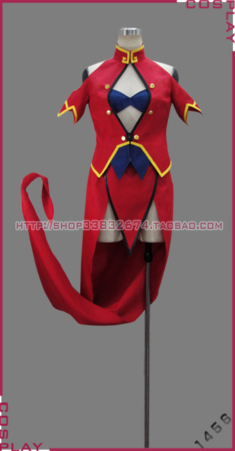 BLAZBLUE Calamity Trigger Litchi Faye-Ling cosplay costume