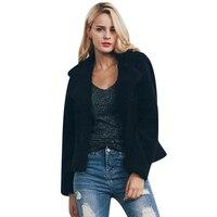 Hot 2017 Fashion Women Fur Coat The New Lapel Fur Coat Hot Sale Autumn And Winter