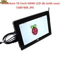 10,1 дюймовый HDMI lcd (B) 1280*800 емкостный дисплей монитор, ips сенсорный экран, для Raspberry Pi, Banana Pi, BB Черный WIN10