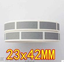 1000 шт/рулон 23x42 мм diy царапина покрытие карта наклейка