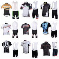 2019 Cycling Short Sleeves jersey bib shorts sets men's summer breathable kit Explosion trend hot sale U31807