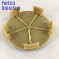 Forten Kingdom 4 Cái Xe ABS Cho Fiat Red Chrome 60 mét 2 3/8 inch Tùy Chỉnh Hub Wheel Center Centre Cap Rim Hubcap