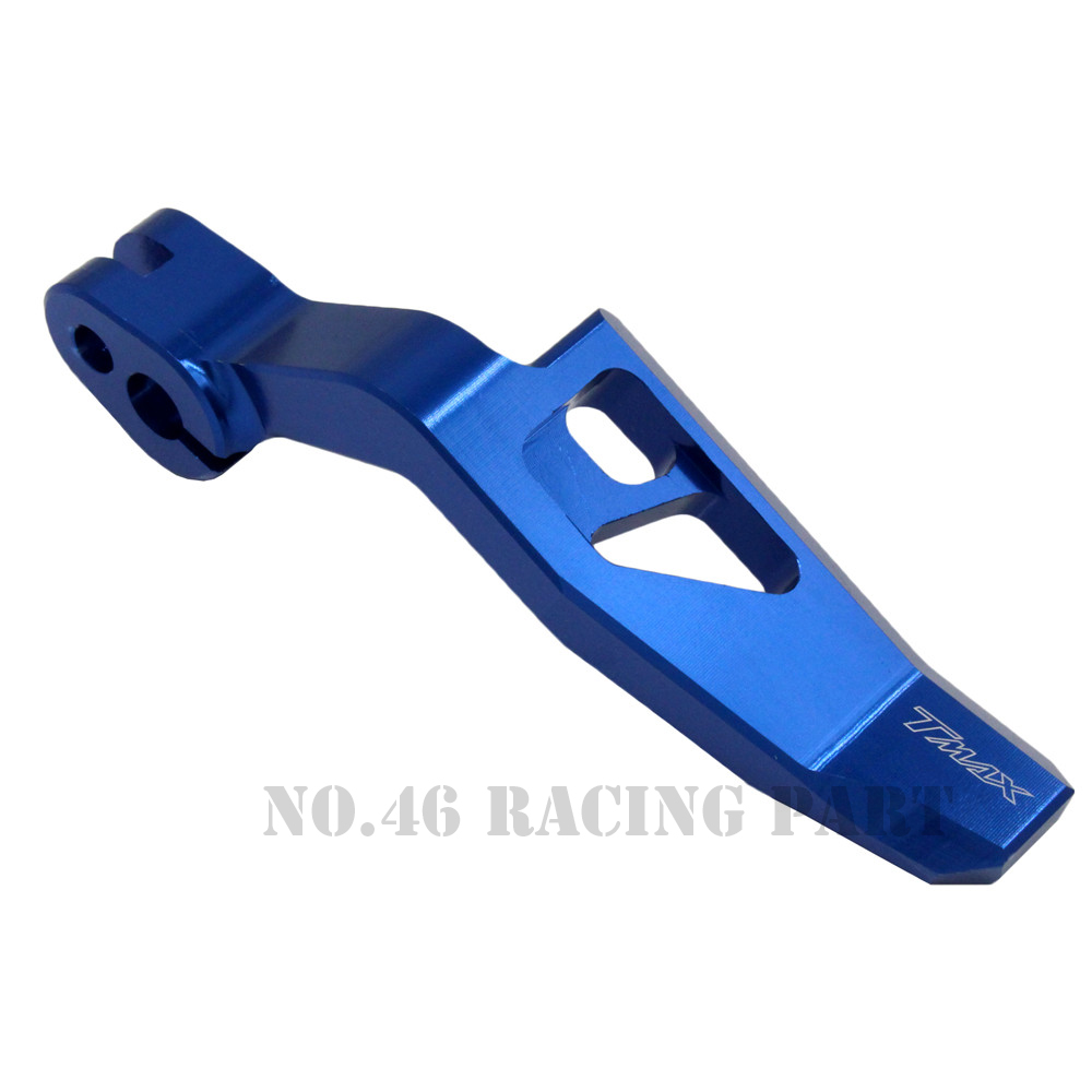 Image 4 - Motorcycle Accessories CNC Aluminum Parking Brake Lever For YAMAHA TMAX 500 2008 2011 T MAX 530 T MAX 530 2012 2015 XP500 XP530-in Covers & Ornamental Mouldings from Automobiles & Motorcycles
