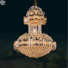 Luxury crystal lamp hotel lighting engineering lamp Continental lamp corridor lights Chandeliers Lmy-092(China)