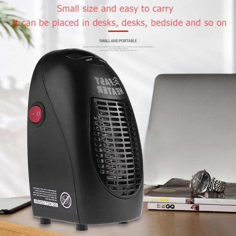 350/400 W calentador eléctrico Mini calentador de ventilador de escritorio del hogar pared práctico estufa de calefacción más caliente de la máquina para el invierno nos enchufe de la UE