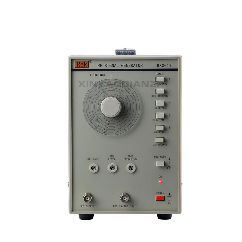 REK Signal generator RSG-17 100KHz-150MHz High Frequency Signal Generator specializing in the production of wholesale tsg 17 high frequency signal generator 100 khz to 150 mhz signal frequency