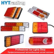 12V/24V Truck Tail Lights LED Stop Rear Tail Brake Reverse Lights ...