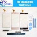 LEAGOO M5 Сенсорного Экрана Digitizer 100% Гарантия Оригинальное Дигитайзер Стекла Сенсорная Панель Замена Для LEAGOO M5 + инструменты + Клей