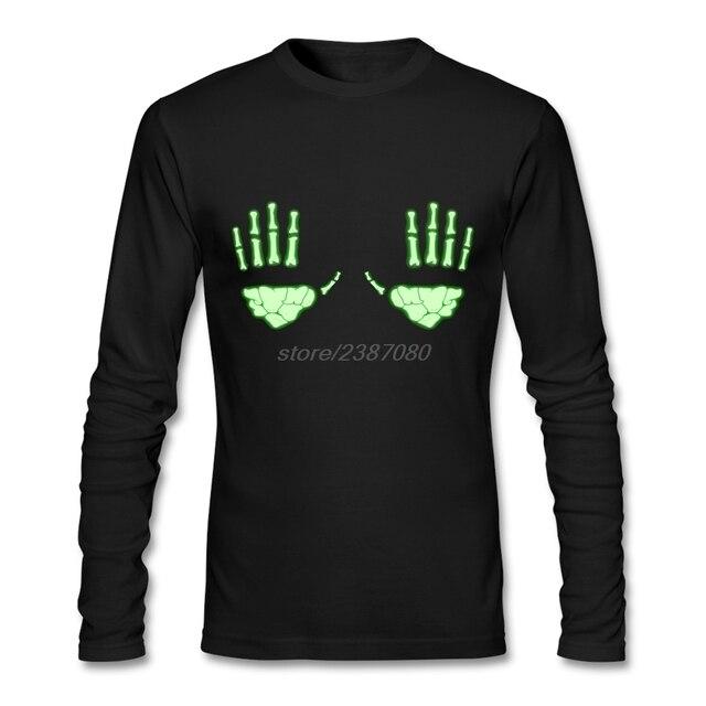 collar t shirt full hand