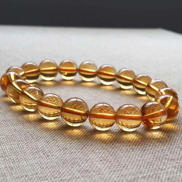Bracelet Citrine Véritable