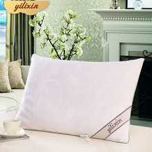YILIXIN Salt-out Silk Pillow 100% Natural Silk Pillow For Gifts Local Delivery From Moscow Adult And Child Cotton Travel Pillow