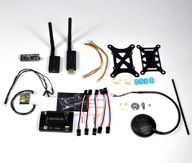 цена на APM2.8 ArduPilot Flight Controller 6M GPS 433Mhz Telemetry OSD&USB Cable APM KIT