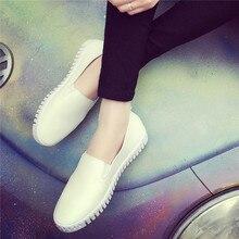 2016 Autumn summer women's shoes casual shoes  single shoes white skateboarding shoes