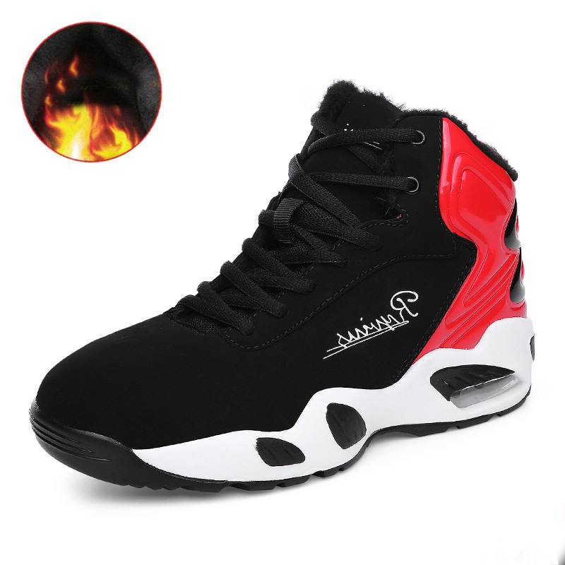 2017 new men air running shoes winter warm sport sneakers walking boots run Jogging Trainers N free shipping