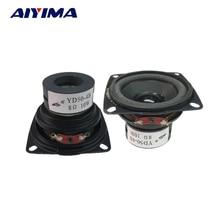 AIYIMA 2 шт. мини аудио портативные колонки 8 Ом 10 Вт полный спектр мультимедиа динамик DIY для домашнего кинотеатра звуковая система