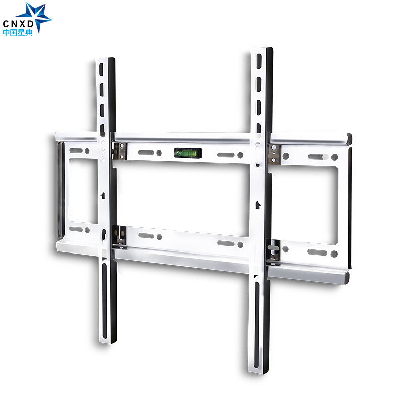 Universal 50kg Fixed TV Wall Mount Bracket Flat Panel TV Slim Stainless Steel  TV Frame for 26-55 Inch LCD LED Monitor Flat Pane