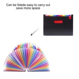 Image 3 - 37กระเป๋าขยายแฟ้มโฟลเดอร์A4ขนาดใหญ่พลาสติกขยายแฟ้มOrganizerยืนAccordionsโฟลเดอร์สำหรับเอกสารธุรกิจ