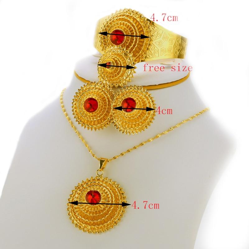 Ефіопський комплект ювелірних - Модні прикраси - фото 4