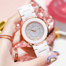 Top Brand Luxury Women Watches Fashion Ladies Ceramic Watch Dress Elegance Quartz Clock Female Montre Femme Dropshipping