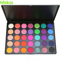 35 Color Eyeshadow Palette Make Up Pallete Natural Silky Powder Professional Beauty Makeup Glitter Eye Shadow