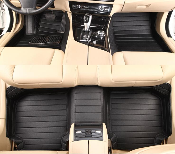 Ford Mustang üçün CHOWTOTO Xüsusi Mərtəbə Matraları 2 Mustang - Avtomobil daxili aksesuarları - Fotoqrafiya 4