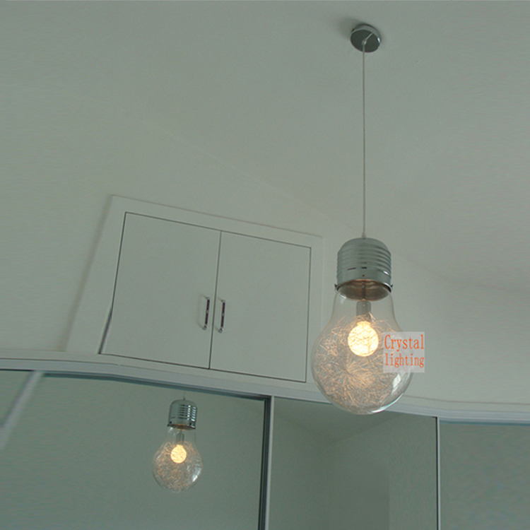 Luminaire Suspension Grosse Ampoule