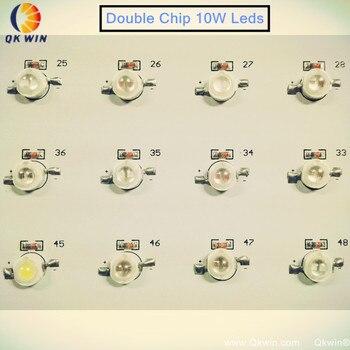 Fransa Dropshipping 1000 W LED Büyümek Işık 100x10 W çift çip 10 W çip LED Tam Spektrumlu LED Büyümeye Yol Açtı ışık