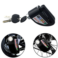 Motorcycle Lock Disc Brake 110dB Alarm Sound Durable Anti theft For Bike Motorbike Car Styling