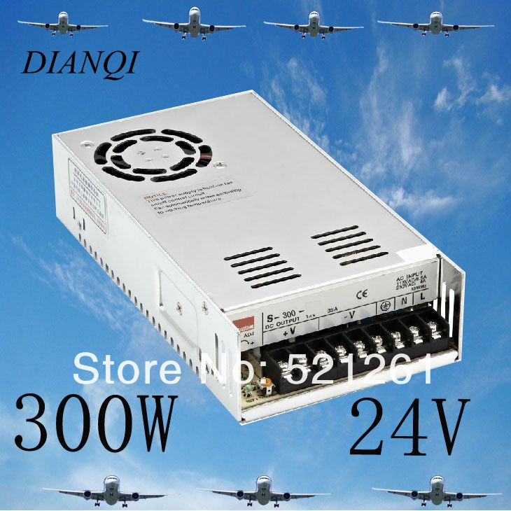 где купить power suply 24v 300w ac to dc power supply ac dc converter    S-300-24 дешево