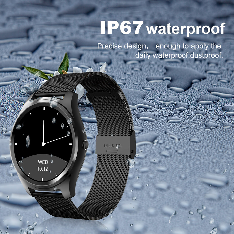 Diggro DI03 Smart Watch MTK2502C IP67 Waterproof Heart Rate Monitor Remote Control Camera Message Push Smartwatch IOS Android 10