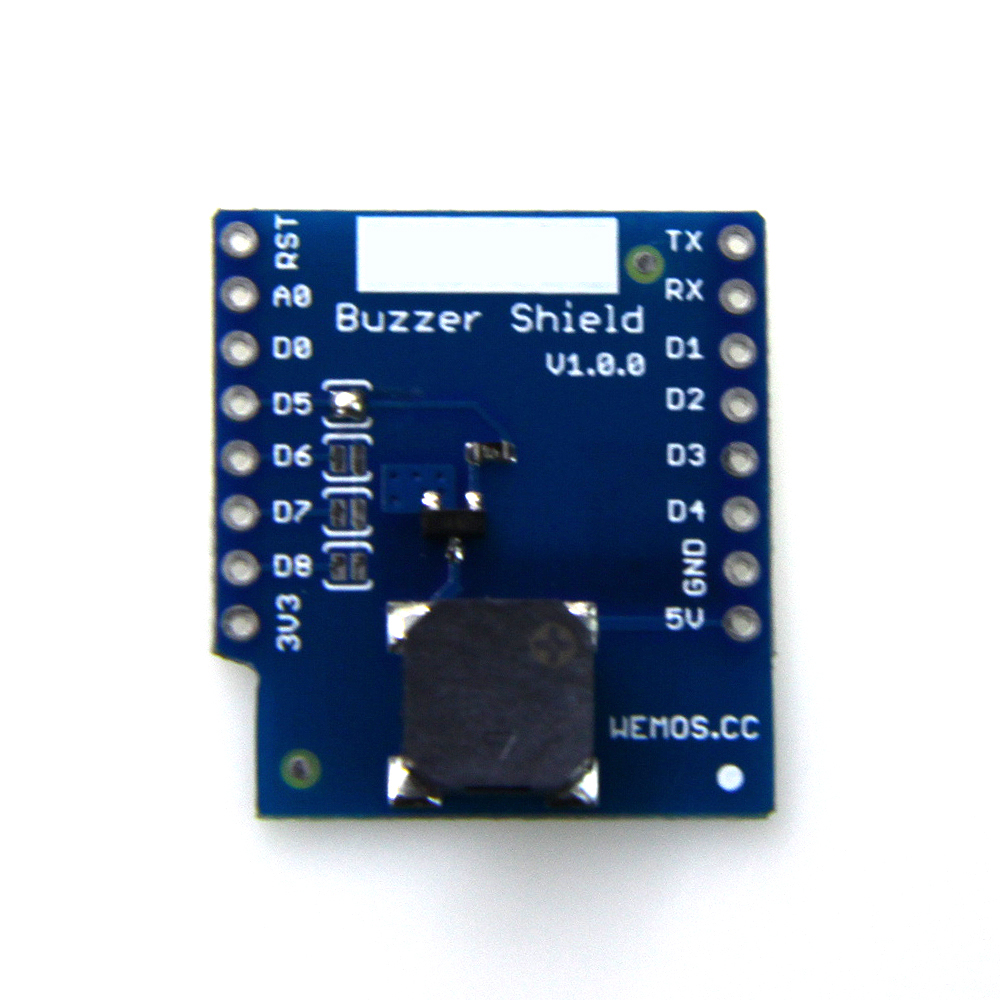 все цены на wemos Buzzer Shield V1.0.0 for WEMOS D1 mini 4 optional control pins wemos d1 mini shield for buzzer shield онлайн