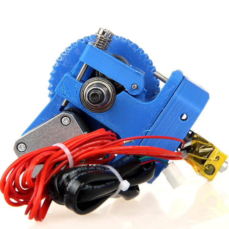 Geeetech GT3 Assembled 3D Printer Extruder with Stepper Motor Nema17 0.3/0.35/0.4/0.5mm nozzle for 1.75/3mm Filament 2017 assembled jennyprinter3 z360ts dual extruder nozzle extended for ultimaker 2 um2 high precision auto leveling 3d printer