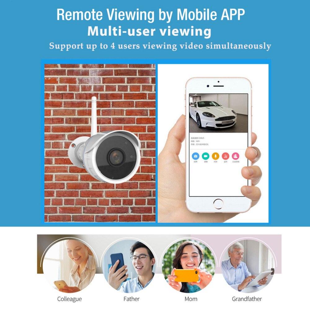 Vstarcam 1080P 2MP IP Camera Wifi Outdoor Camera IP66 Waterproof Security Surveillance Camera IR-Cut CCTV Bullet IP Camera C17S