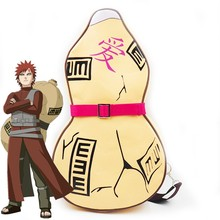 Gaara Naruto Gourd Bag Backpack Weapons Cosplay Cos Prop Anime Costume Props Novelty Special Use Accessories недорго, оригинальная цена