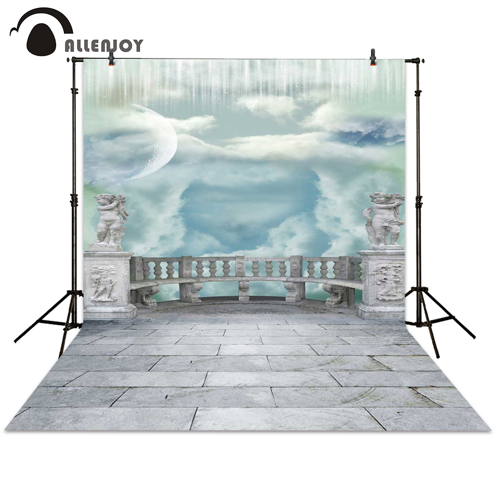 Allenjoy backgrounds photography sky brick angel retro backdrop backgrounds filming photocall photographic photo studio