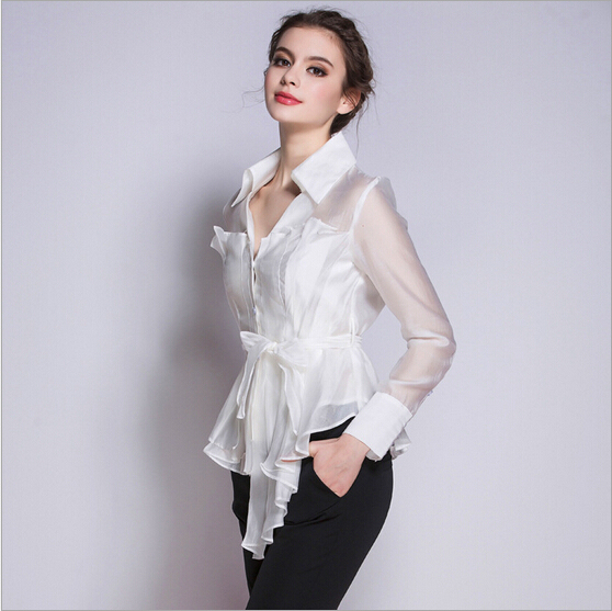 korean new fashion women clothes 2016 v neck long sleeve