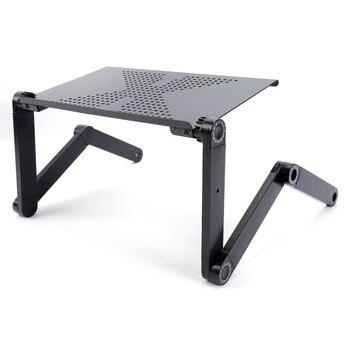 Mesa plegable ajustable para ordenador portátil, escritorio para ordenador, mesa para notebook,...