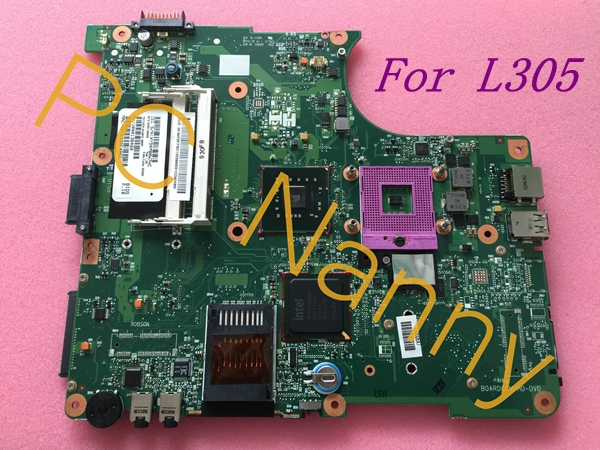 V000138460 for Toshiba Satellite L300 L305 laptop Motherboard 6050A2170401-MB-A03 GL40 full tested free shippng 45 days warrant