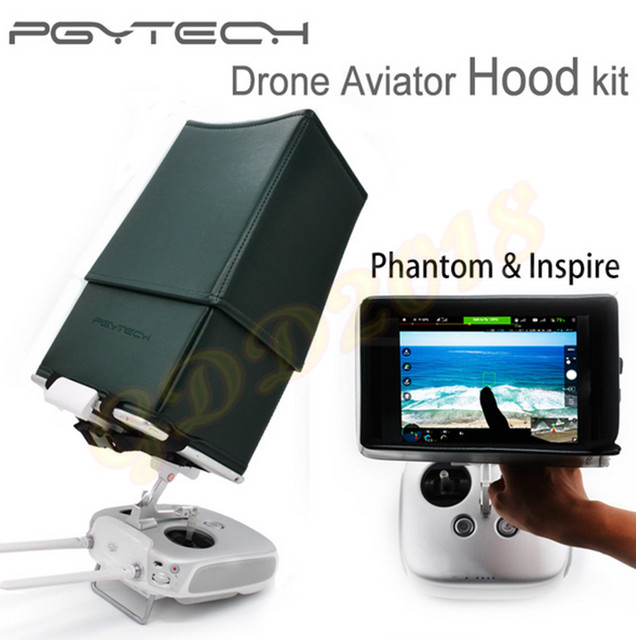 PGY Drone Aviator Hood kit remote control RC sun Hood shade upgraded DJI phantom 2 3 4 inspire 1 Quadcopter parts Accessories