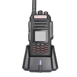 Image 3 - Zastone a19 10w walkie talkie alto powe dupla exibição de rádio em dois sentidos vhf & uhf handheld para a caça presunto fm transceptor