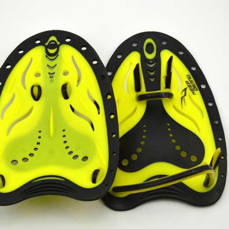 מקצועי אימון משוטי שחייה סיליקון מתכווננת סנפירי סנפירי יד קרומיות Padel הילוך גברים נשים ילדים ללמוד