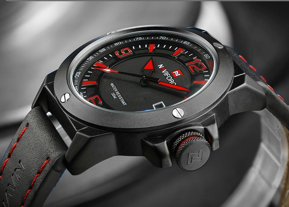 2017 Nouveau Luxe Marque Naviforce Hommes Classique Militaire Montres Hommes de Quartz Date Horloge Homme Poignet Montre de Sport Relogio Masculino 15